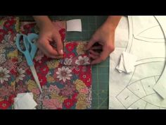 Double Wedding Ring Quilt Along #2 - YouTube