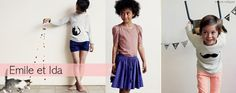 Emile et Ida SS13 Collection available at Frenchblossom.com