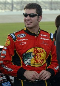 A really young looking Martin Truex Jr.