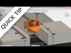 QUICK TIP: 3D Chamfer - YouTube Cad Cam, Autocad, 3d Printing, Software, Hacks, Learning, Simple, Tips, Youtube