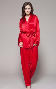 Super remise regard détaillé réduction jusqu'à 60% pyjama femme sexy en soie