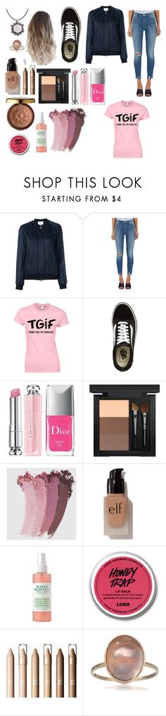 """""""Untitled #251"""" by destiny-ivey ❤ liked on Polyvore featuring 3.1 Phillip Lim, J Brand, Vans, Christian Dior, MAC Cosmetics, Gucci, e.l.f., Physicians Formula and John Brevard"""
