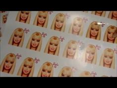BARBIE DECALS ----Make Some ----The TUTORIAL ---- Homemade Subsitute . - YouTube