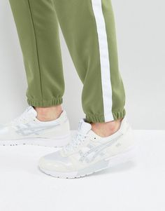 ASICS GEL-LYTE SNEAKERS IN WHITE HY7F3 0196 - WHITE. #asics #shoes #