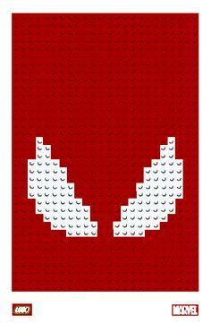 Geek Art Loves Max Bonnaudet's Marvel Legos