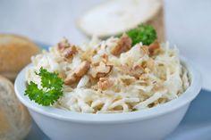 Selleriesalat mit Nüssen - Rezept - GuteKueche.ch Mole, Starters, Potato Salad, Salads, Food And Drink, Low Carb, Keto, Favorite Recipes, Yummy Food