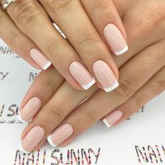 The Best Business Casual Nails To Complete Your Work Look ❤️ Formal Nail Des. - - The Best Business Casual Nails To Complete Your Work Look ❤️ Formal Nail Designs For Business Women In Black picture 2 ❤️ Sometimes it may seem that b. French Nails, French Nail Polish, Natural French Manicure, Natural Nail Art, French Manicures, Cute Nails, Pretty Nails, My Nails, Work Nails
