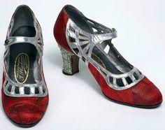 Art Déco - Chaussures 'Salomé' - Ignazio Pluchino - 1925