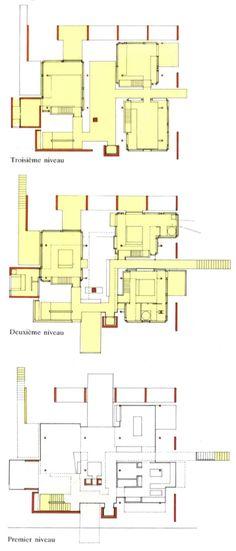 Le Corbusiers plan of Maison Citrohan (1927) le Corbusier - plan architecturale de maison