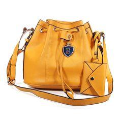 Sale 12% (21.99$) - Bucket String Bag Women Shoulder Crossbody Bag Handbag