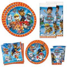 Paw Patrol Deluxe Party Packs (For 16 Guests)