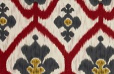 ikat from Tissus Tartares via cloth & kind