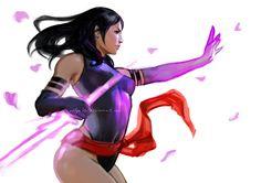 Psylocke by aditya777