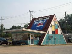 Big Chief Drive-In Restaurant in my hometown, Glencoe, Alabama