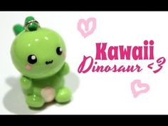 [Tuto Fimo] Dinosaure kawaii - Tuto-fimo.net
