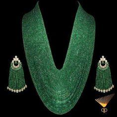Gorgeous Zambian Emeralds Strands