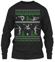 Gymnastics Ugly Christmas Sweater! | Teespring