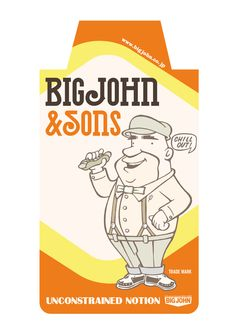 BIGJOHN & SONS new character show card