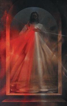 Mary And Jesus, God Jesus, Divine Mercy Image, Divine Mercy Chaplet, Pictures Of Jesus Christ, Prophetic Art, Biblical Art, Sacred Art, Bible Art