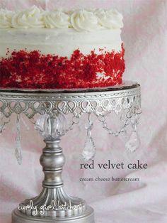 Curly Girl Kitchen: Red Velvet Cake