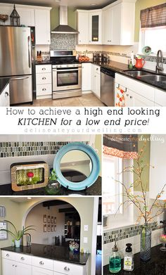 How to achieve a HIGH END looking Kitchen for less.  What a huge renovation and you'll never believe how much it cost!!