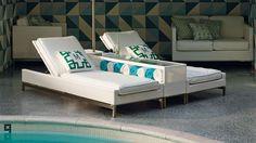 Metropolitan 3-pc. Sofa Set in White Finish | Frontgate Outdoor Book 2014
