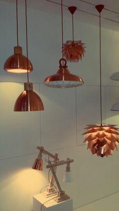 In de winkel van www.aladdinlampen.nl