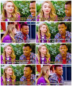 "#GirlMeetsWorld 2x03 ""Girl Meets the Secret of Life"" - Maya and Zay"