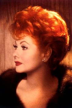 "Once in his life, every man is entitled to fall madly in love with a gorgeous redhead."" ― Lucille Ball"