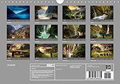 Zwielicht - Fantasylandschaften Wandkalender 2020 DIN A4 quer: Amazon.de: Simone Wunderlich: Bücher Digital Art, Wall Calendars