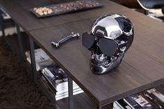 aero skull HD #jarre #speaker #bluetooth #chrome #aero #skull #aeroskull #iphone #android #audio #audiofile