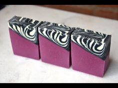 Zebra Glam Cold Process Soap Design (Video) – Lovin Soap Studio