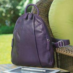 Marley Teardrop Multi Zip Backpack - Osgoode Marley - Bag - Levenger