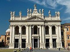 Basílica Papal de São João de Latrão, uma das quatro basílicas papais