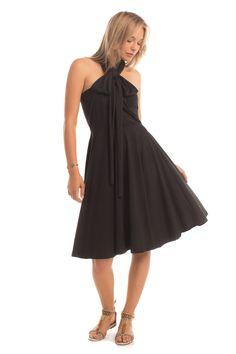 Essential Infinity Dress in Black