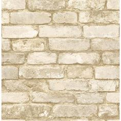 Wallpaper For Kitchen Island With Pull Out Table 137 Best Brick Images Mural Farmhouse Oxford White Texture Sample Man20098sam