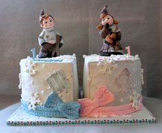 Vintage Winter Cake by marulka_s