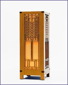 Frank Lloyd Wright Tree Of Life Mini Lightbox Accent Lamp