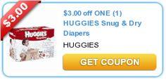 KROGER:  Huggies Snug & Dry Jumbo packs only $3.99 **HOT DEAL**
