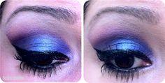 Tudo Make! - Passo a passo maquiagem rosa, roxa e azul.