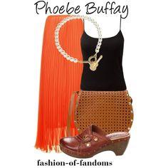 """Phoebe Buffay"" by fofandoms on Polyvore"