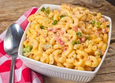 Macaroni salad is a popular summer dish, so we've served up our take on this traditional favorite!