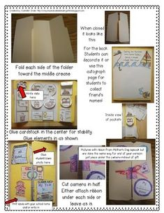 End Of Year Lapbook / Memory Book! Create A Keepsake Of Y