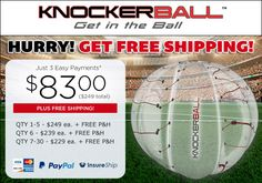 Web Exclusive Offer - Knockerball