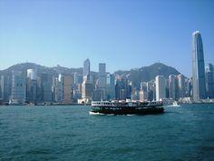 Hong Kong harbour - Mike Jury ©