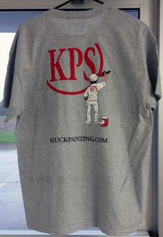 Kluck Painting Service t-shirt Back.