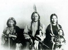 Native americans of different tribes