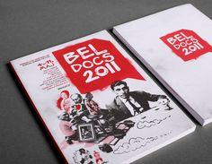 Beldocs 2011 by Veljko Zajc, via Behance