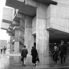 """modernism-in-metroland: """" Lecture Block, Brunel University, Uxbridge by Richard Sheppard, Robson and Partners. Grade II listed lecture block designed for Brunel University by Sheppard, Robson. Council Estate, French History, London Museums, Sense Of Place, Slums, Brutalist, Modern Buildings, Countryside, University"""
