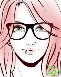 Resultado de imagen de girl drawings tumblr easy